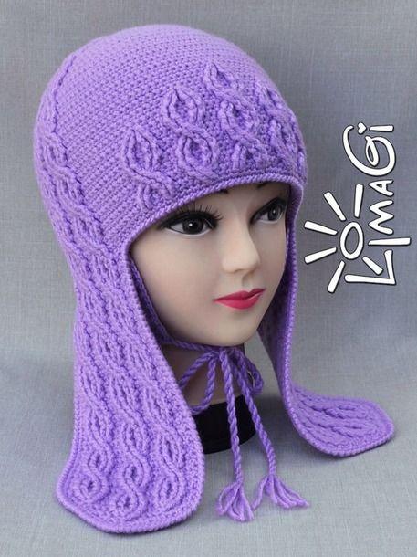 Заказали шапочку с косами и длинными ушками - и родилось сие изделие.