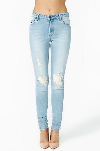 Kitty Love Skinny Jeans by #RESDenim