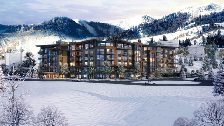 OZ Architecture elevates residential living with LIFT. Rendering of the new slope side LIFT building at Park City's Canyons Village. LIFT is designed by OZ Architecture and developed by Replay Resorts. Courtesy of OZ Architecture
