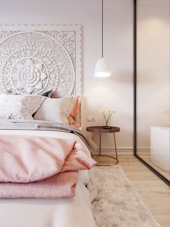 Interior & Architecture Blog — Pink & White