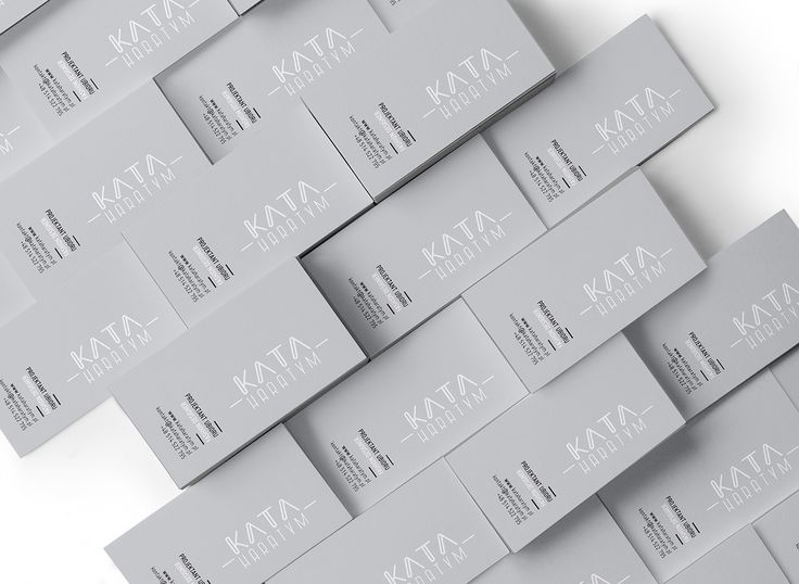 Logo and business card for Kata Haratym