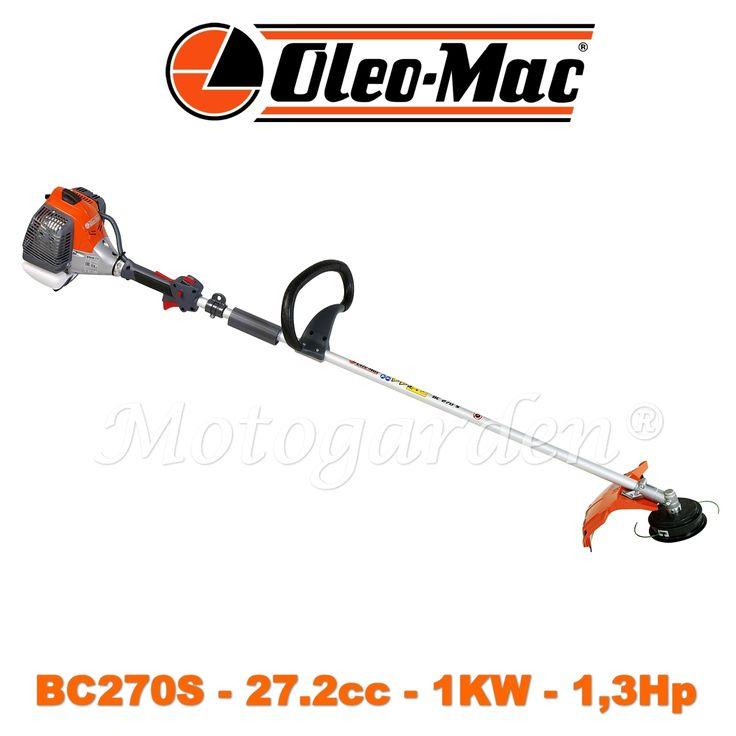 Nuovo decespugliatore Oleo Mac BC270S.  Sconto su ebay.  Promozione per 10 pezzi.  Il migliore sul mercato per potenza e leggerezza.