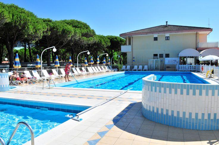 Am Village #Camping #Joker gibt es einen #Pool, einen #Whirlpool und einen #Kinderpool.