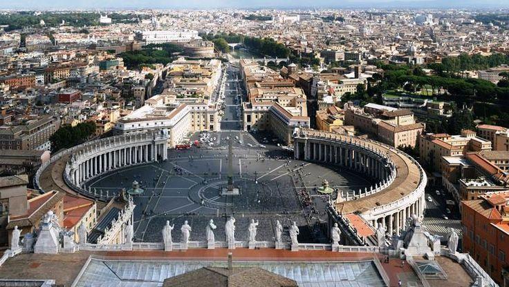 Jubileul Extraordinar al Milei 2015 la Roma   Imagine panoramica de la inaltime a Cetatii #Roma