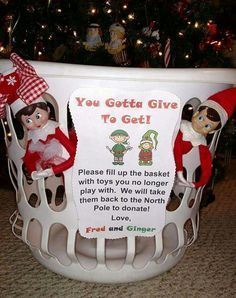 Image result for fab christmas toys you gotta give to get elf