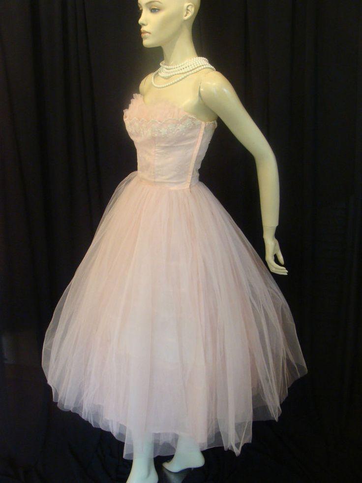 Original Vintage 1950er Jahre Kleid / Emma Domb wiggle
