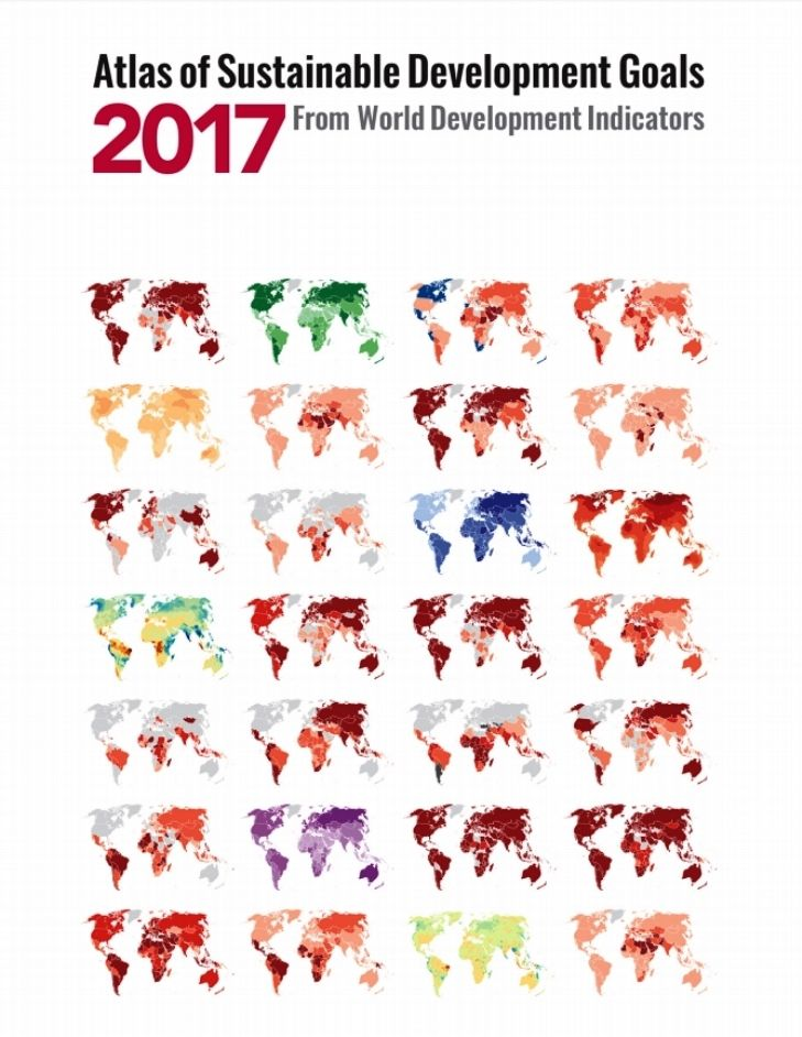 Atlas of Sustainable Development Goals 2017:  : From World Development Indicators (EBOOK) FULL TEXT: https://openknowledge.worldbank.org/handle/10986/26306