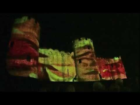 LCI - Conwy Castle 3D Video Projection Mapping