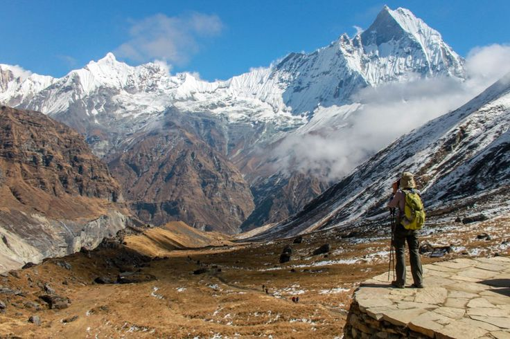 Annapurna and Machhapuchhre Base Camp Trek is famous for trekkers.