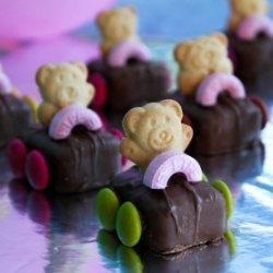 Edible Tiny Teddy Racing Cars!