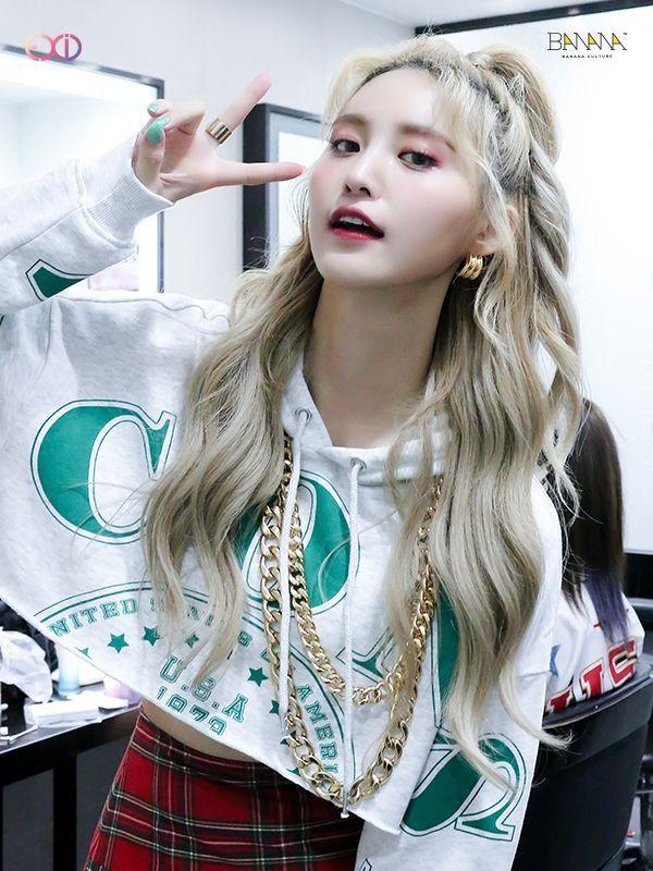 Pin By Abraham Espinoza Chueca On Park Jeonghwa Exid Ponytail Girl Half Korean Kpop Girls