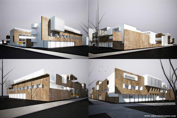 Facultad de Arquitectura UABC, by Taller Veinti Cuatro.