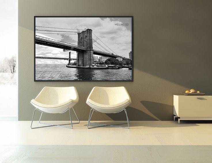 BROOKLYN BRIDGE/bigframe/Interior piece/frame decoration/액자인테리어/인테리어디자인/빅사이즈액자/빅프레임/휴아트빅프레임