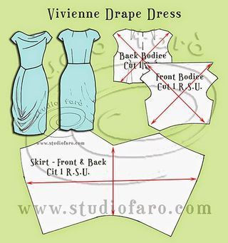 Pattern Puzzle - Dior Draped Skirt | well-suited | Bloglovin'