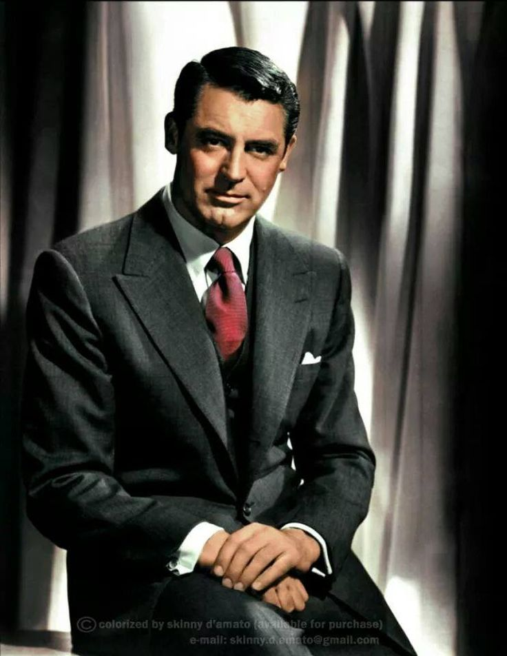 Our Hero is an old fashioned gentleman with timeless cool. Like Cary Grant