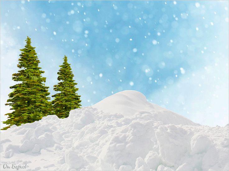 Пожелание снежной зимы