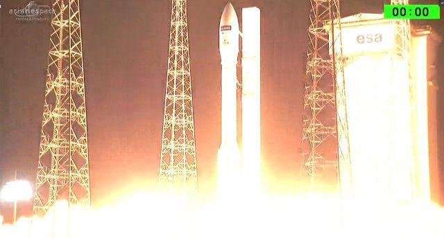 Qualche ora fa, il satellite Sentinel-2B del programma Copernicus / GMES, è partito dallo spazioporto di Kourou, nella Guiana francese, su un razzo vettore Vega. Poco dopo, il satellite si è regolarmente separato dall'ultimo stadio del razzo e ha cominciato a inviare segnali. Alcune ore dopo ha cominciato a dispiegare i pannelli solari. Leggi i dettagli nell'articolo!