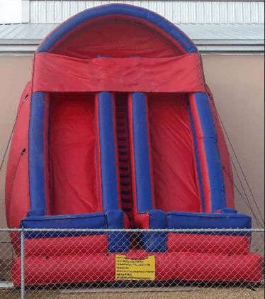 (China Guangzhou) inflatable slides,  inflatable castle Pool slides  TOB-56