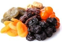 Dried Fruit benefits and cautions