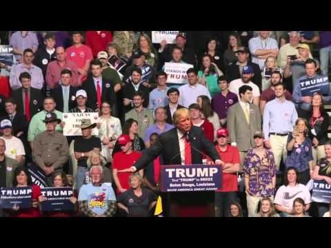 "It's ""Thursday Night Live"" with special guest Donald Trump in Baton Rouge - YouTube"