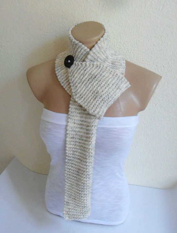 A perfect gift for that special person in your life.  Handmade This scarf is light for those chilly mornings in the spring or fall. Tie it around