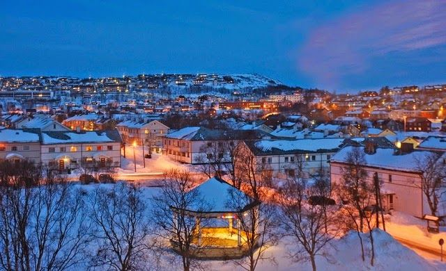 Kirkenes, Norway and Borders – Russia and Norway