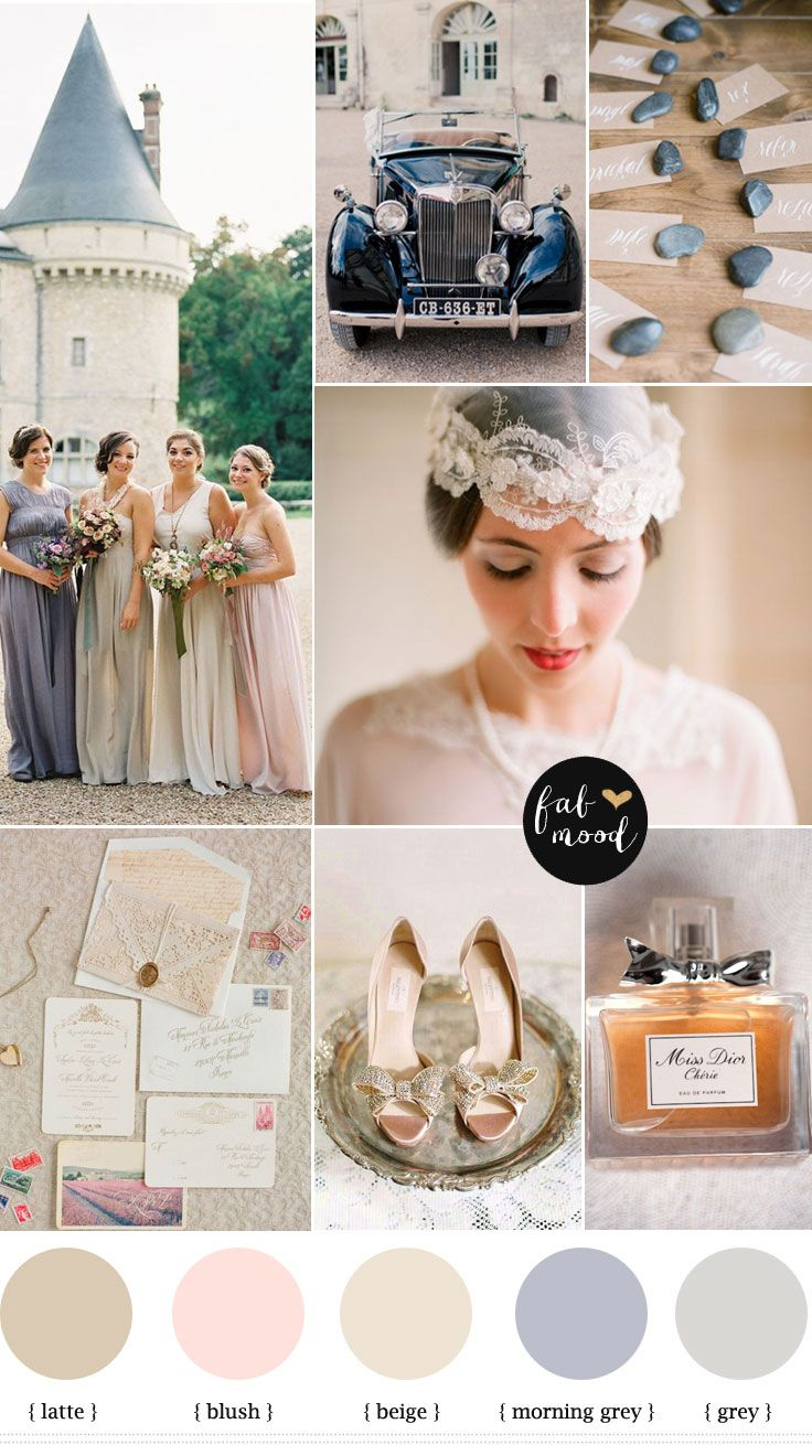 Destination Wedding : French Château Wedding | http://www.fabmood.com/destination-wedding-french-chateau-wedding/