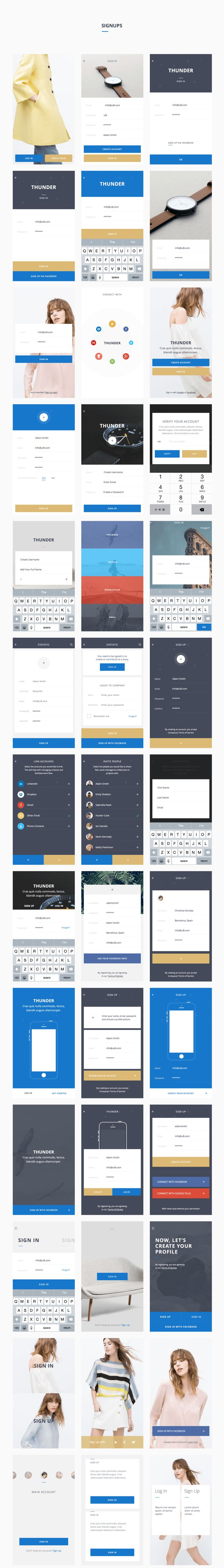 Thunder UI Kit