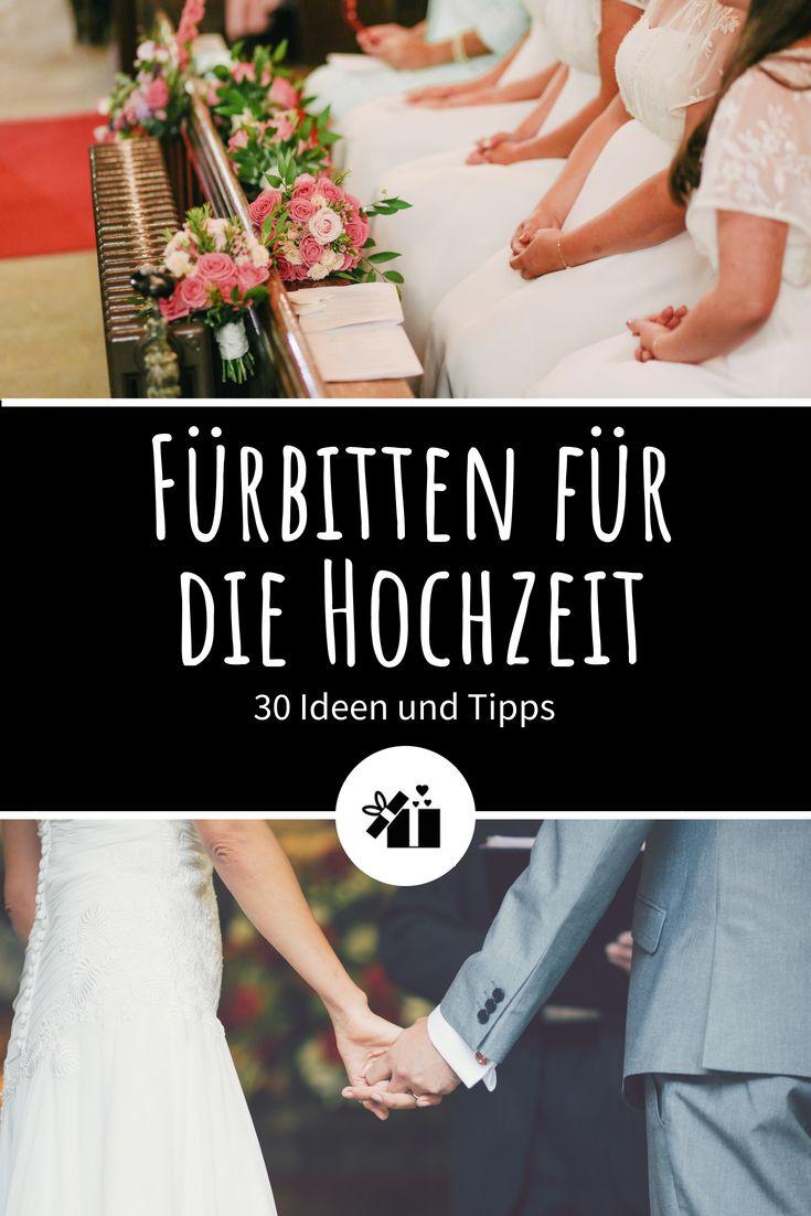 Fürbitten für die Hochzeit: 30 Ideen und Tipps – Tanja Howell