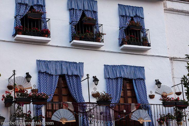 Terrace in Old Town in Marbella
