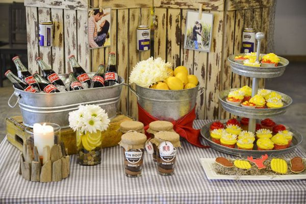 crawfish boil engagement party | ... in this organic buffet party available in Kara's Party Ideas Shop