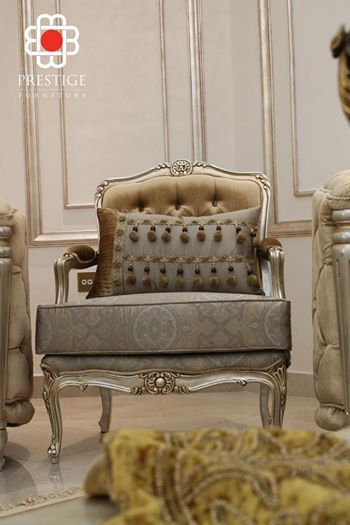 Marvelous Grey And Rusted Gold Furniture Piece By Prestige Furniture. The  Minimalistic Design Gives A Simple