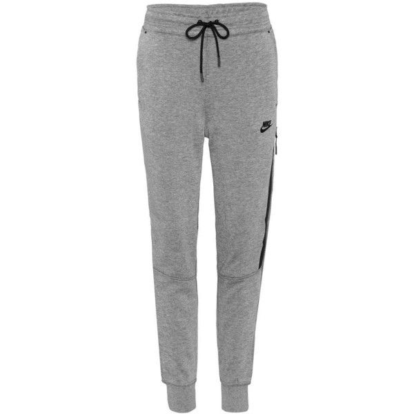 Nike Tech Fleece Trackpants ($95) ❤ liked on Polyvore featuring grey and nike