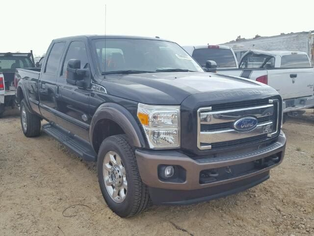 Salvage 2015 Ford F350 King Ranch Pickup For Sale | Clean Title