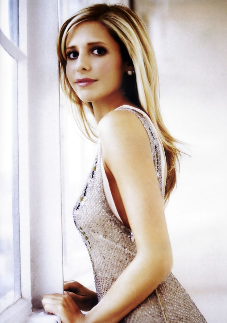 Sarah Michelle Gellar... Buffy plus hair inspiration!