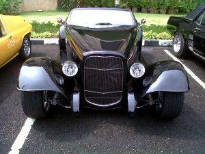 Gambar Mobil Klasik Black