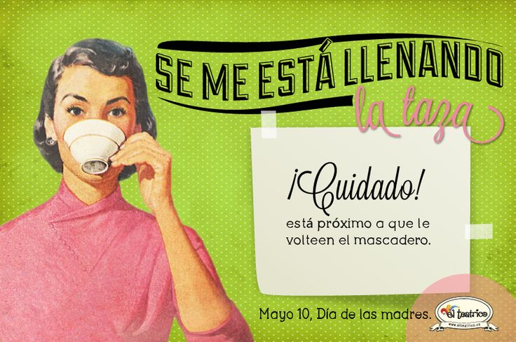 """Se me estállenando la tapa"" www.elteatrico.co"