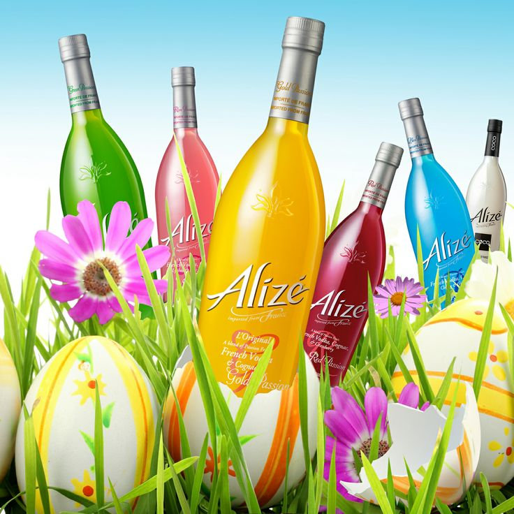 No chocolate in our Easter egg...  Alizé