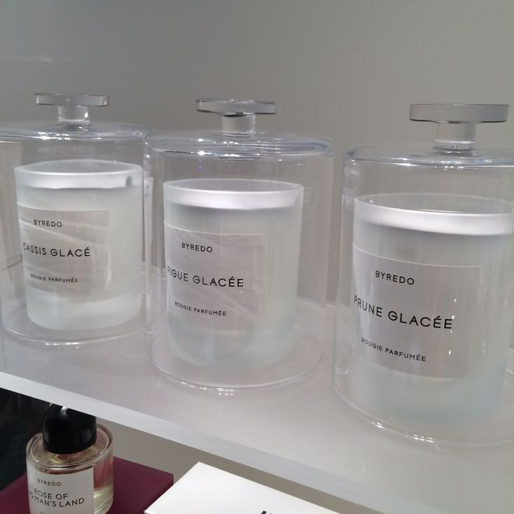 Byredo preview new home candles: Cassis, Figue, Prune Glacée