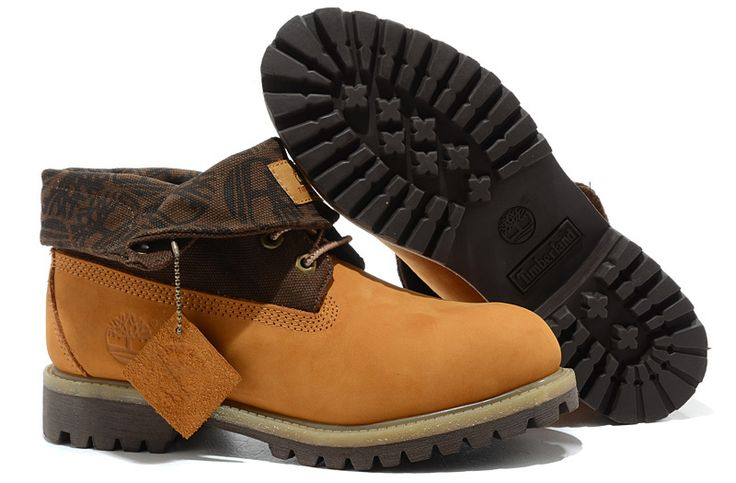 Timberland Men Boots Classic Wheat Brown,Fashion Winter Timberland Men Shoes,cheap timberland roll top boots for men