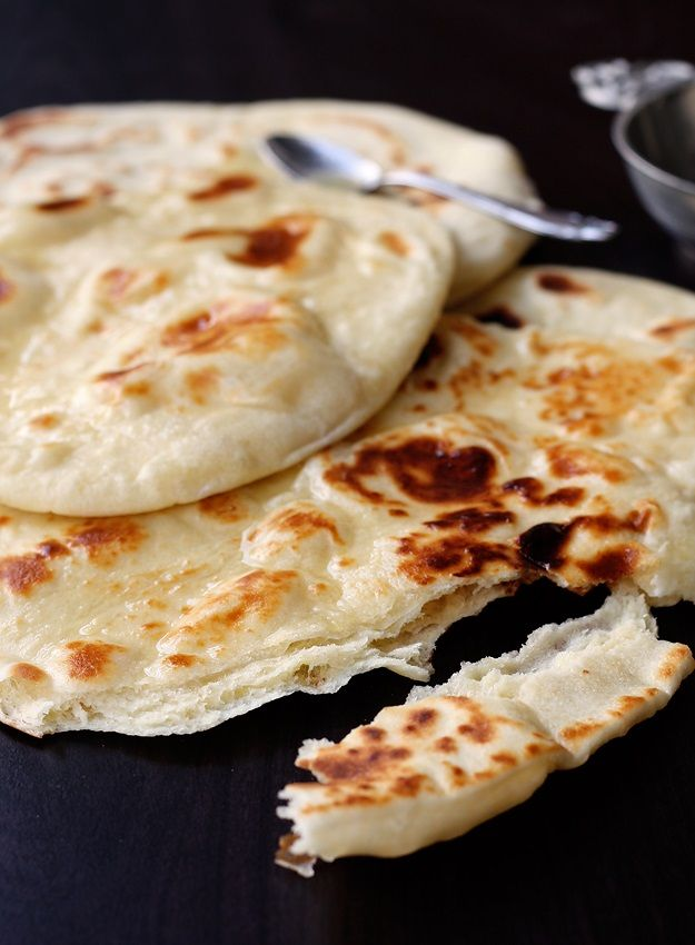 Tried these: happy with the result. Delicious and easy to make.  Easy no yeast stove top Naan