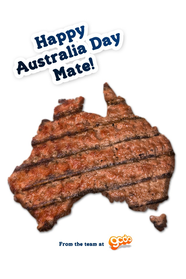 An iPhone version of the Australia Day 2012 Wallpaper - Click on the image to see the full size (640x960) and download it!
