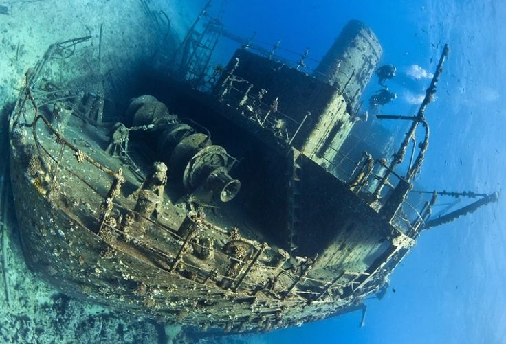 British diver captures interesting things sunk beneath the waves - https://www.thevintagenews.com/2016/01/16/british-photographer-captures-interesting-things-that-have-sunk-beneath-water/