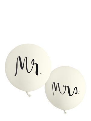 mr. and mrs. balloon set - kate spade new york