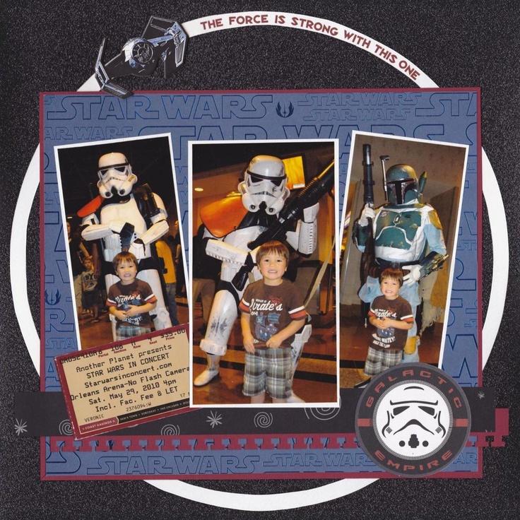 Star Wars in Concert - Scrapbook.com