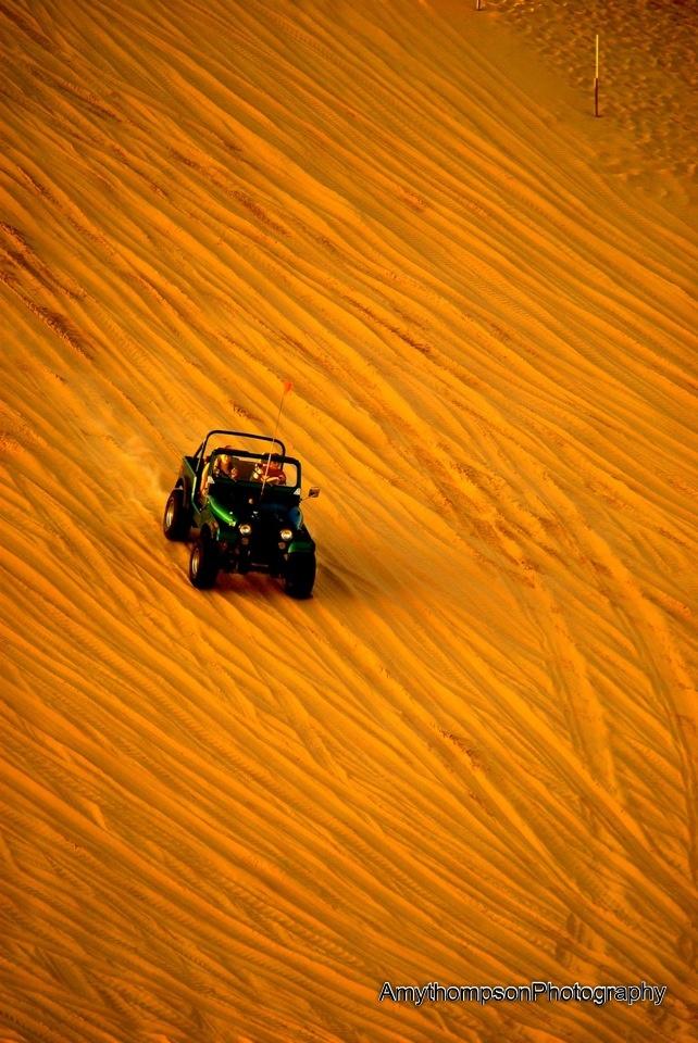 Silver Lake Sand Dunes in Western Michigan