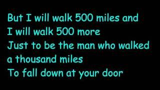 Fastest way to become happy again ;)   The Proclaimers - 500 miles (I gonna be)