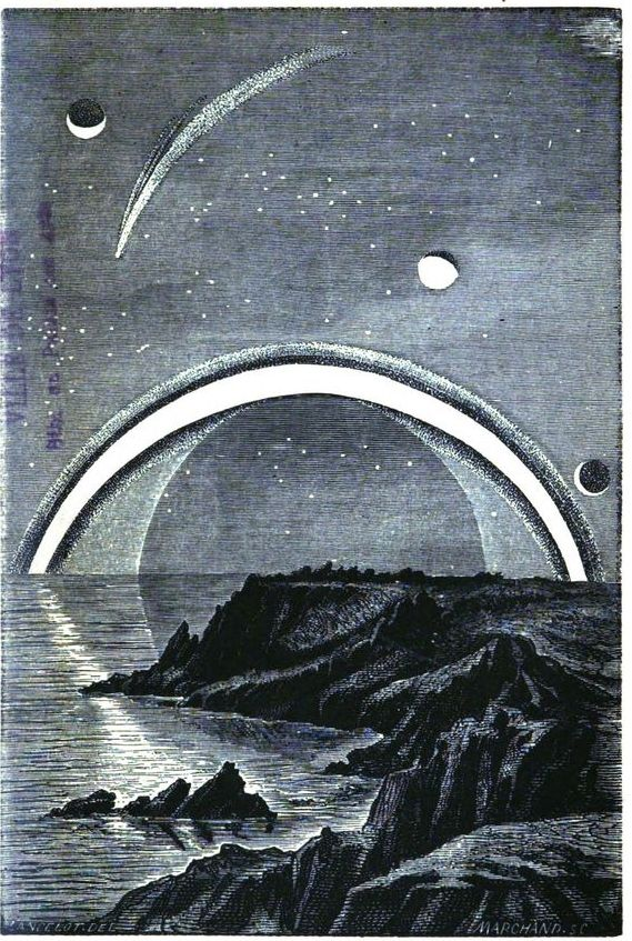Les anneaux de Saturne #astronomie #LivreAncien