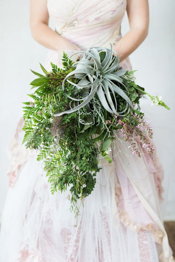 Greenery bouquet- Repinned by Toblers Flowers –Kansas City