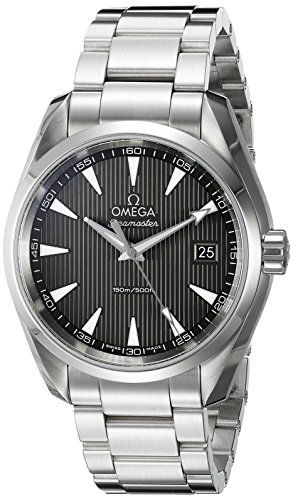 #mensluxurywatches Omega Seamaster Aqua Terra Grey Dial Stainless Steel Mens Watch 231.10.39.60.06.001 Check https://www.carrywatches.com